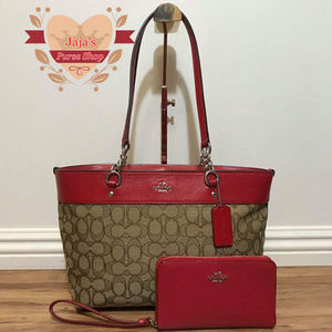 ♦️Coach Fabric/Smooth Leather Purse & Wallet♦️
